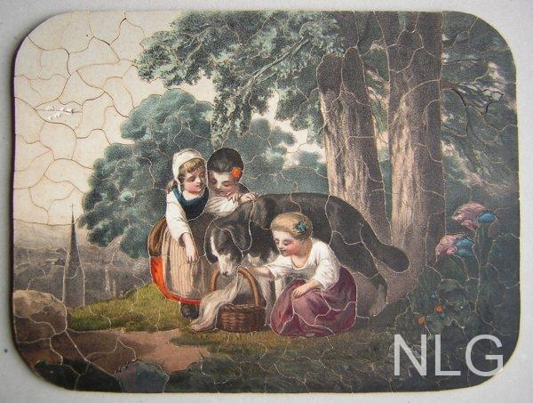 Henke puzzel - ca. 1880 - hout