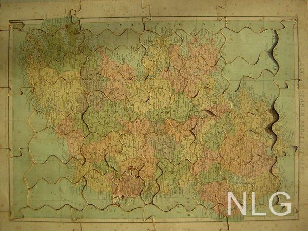 The Dockyard achterzijde kaart Ierland